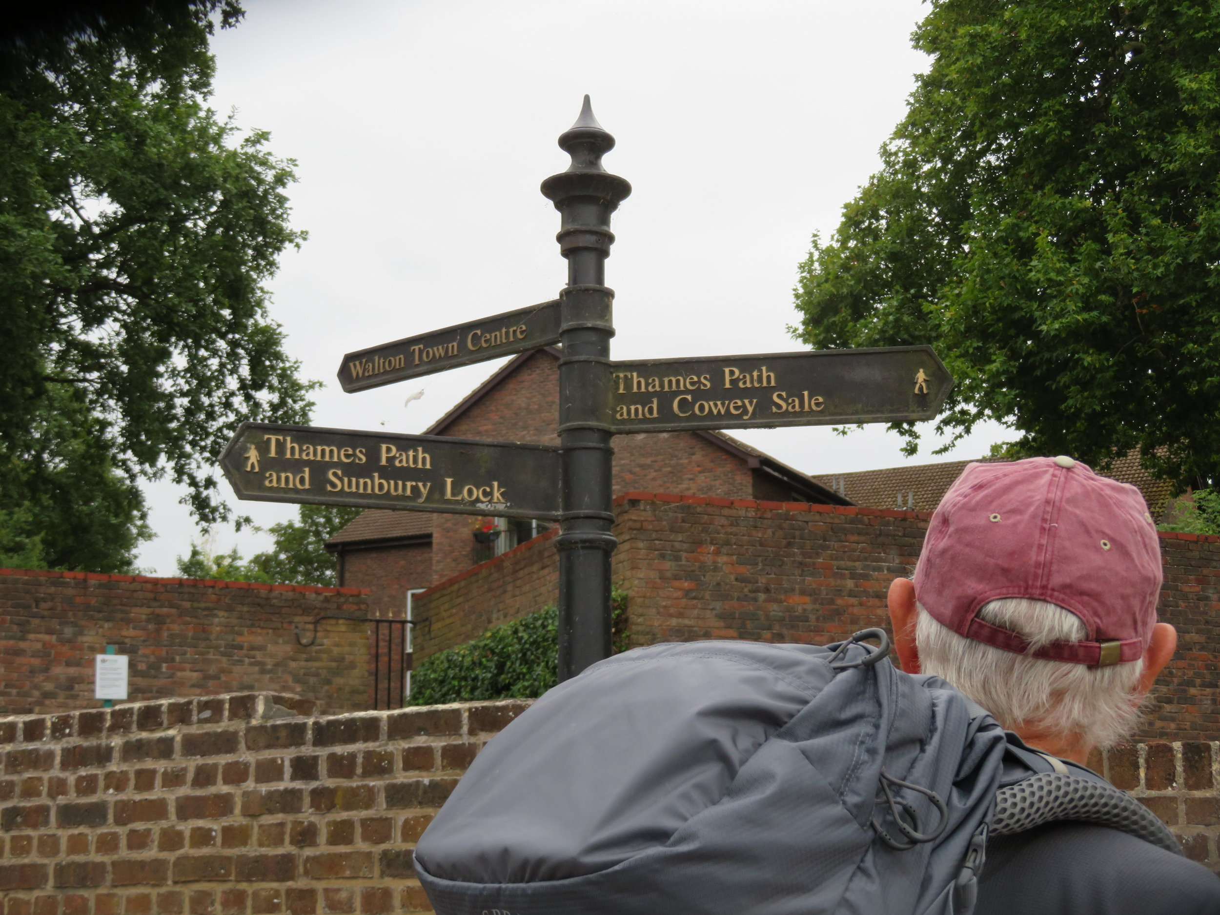 Walking the Thames Path  - 184 miles along the banks of England's longest and most historic river from sea to source.