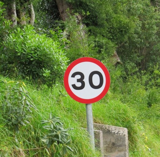 On St. Helena Island, 30 MPH is more of an achievement than a speed limit