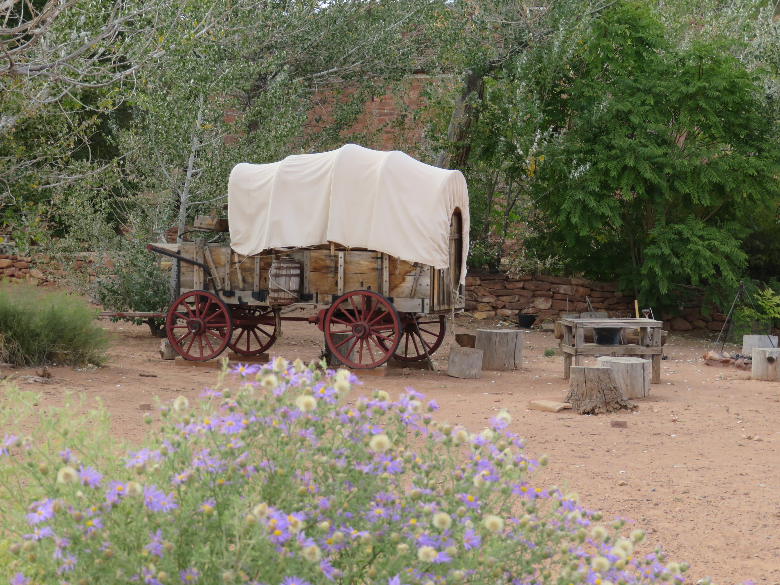Pioneer life at the Pipe Springs National Monument