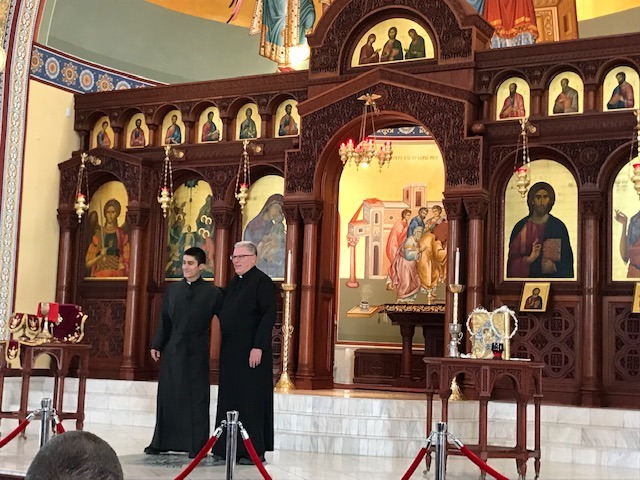 Father John & Father Seraphim provided some levity, a tour of the church and some informative religious education.