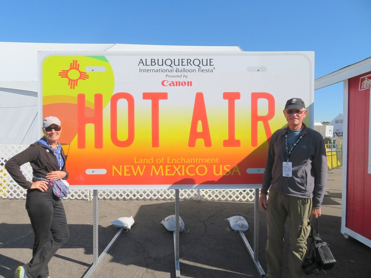 Welcome to the Albuquerque International Balloon Fiesta —- Photo credit: Eric Anderson