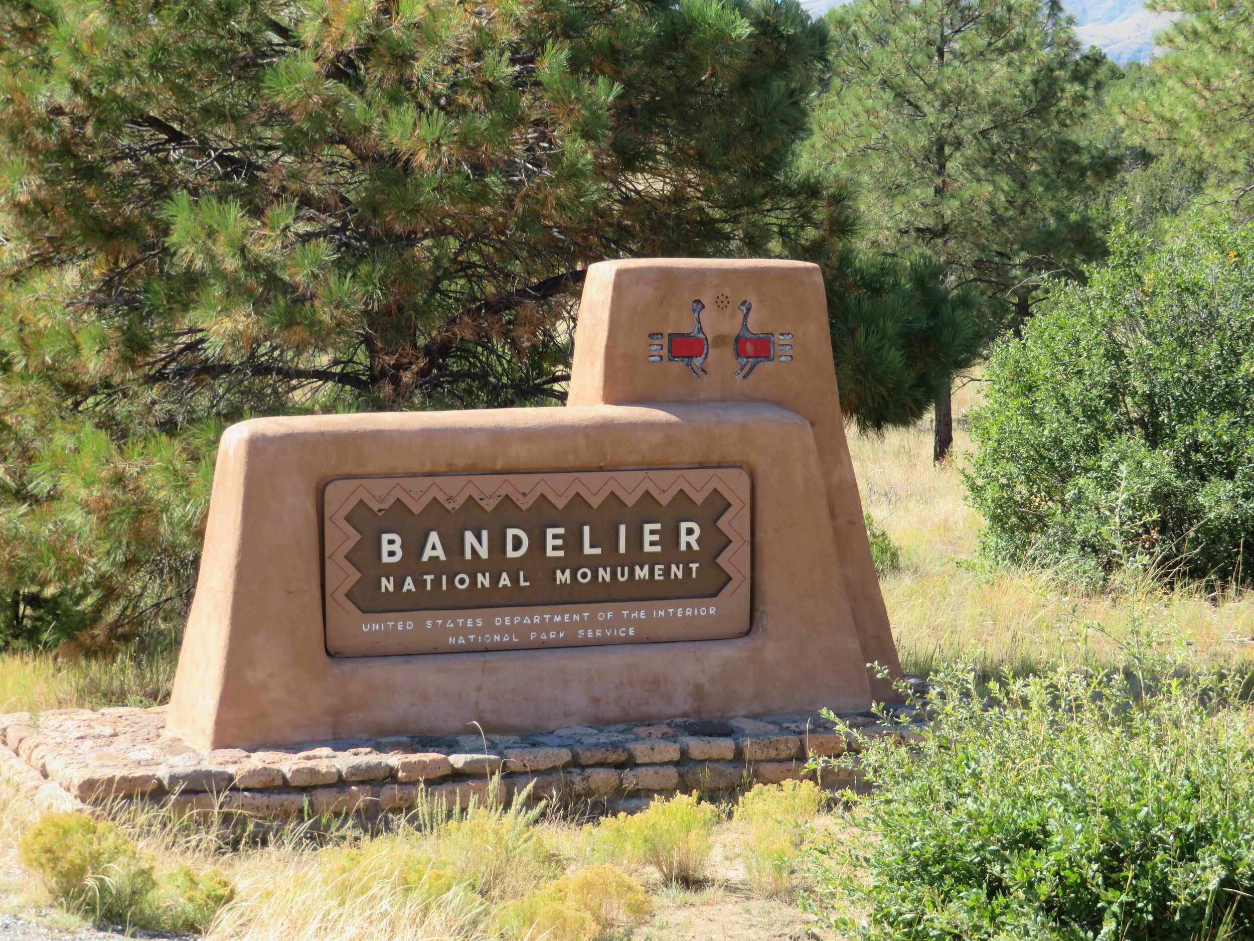 Welcome to Bandelier National Monument. Come hike and explore with us! Hope you're not afraid of heights!