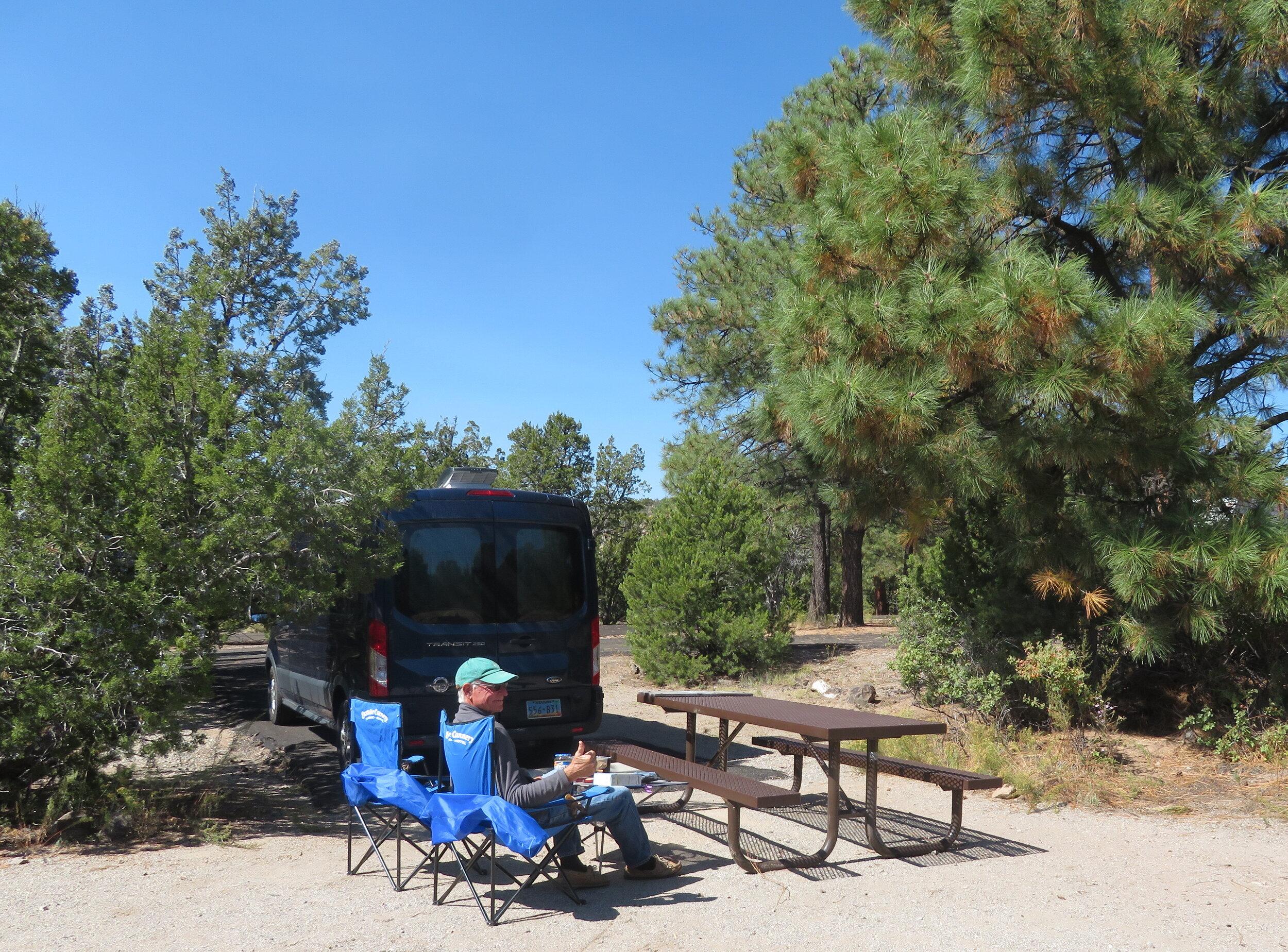 Junper Campground, Abert's Squirrel Loop #11