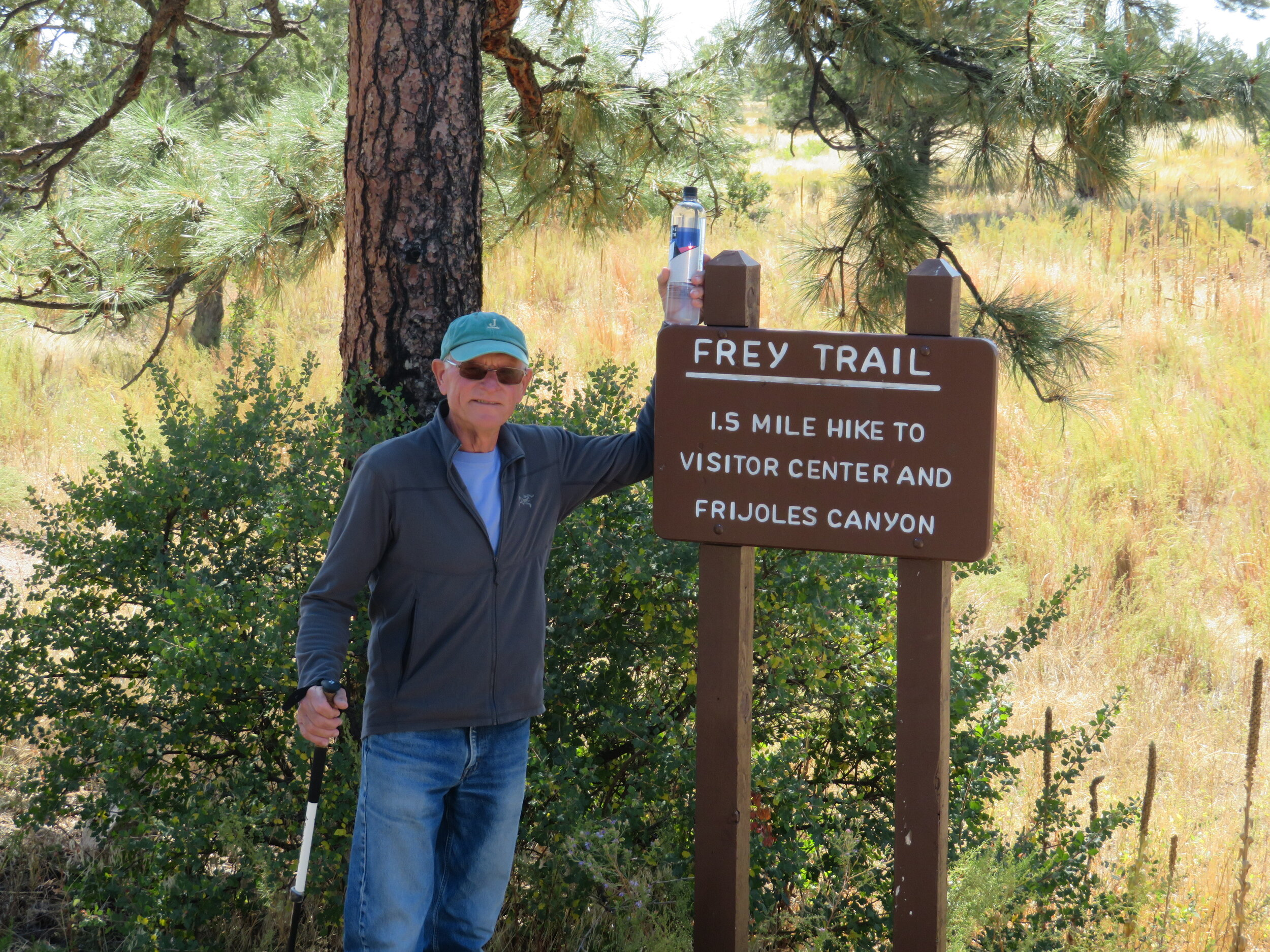The Frey Trail was a great option for getting to the Visitor's Center from the campground.
