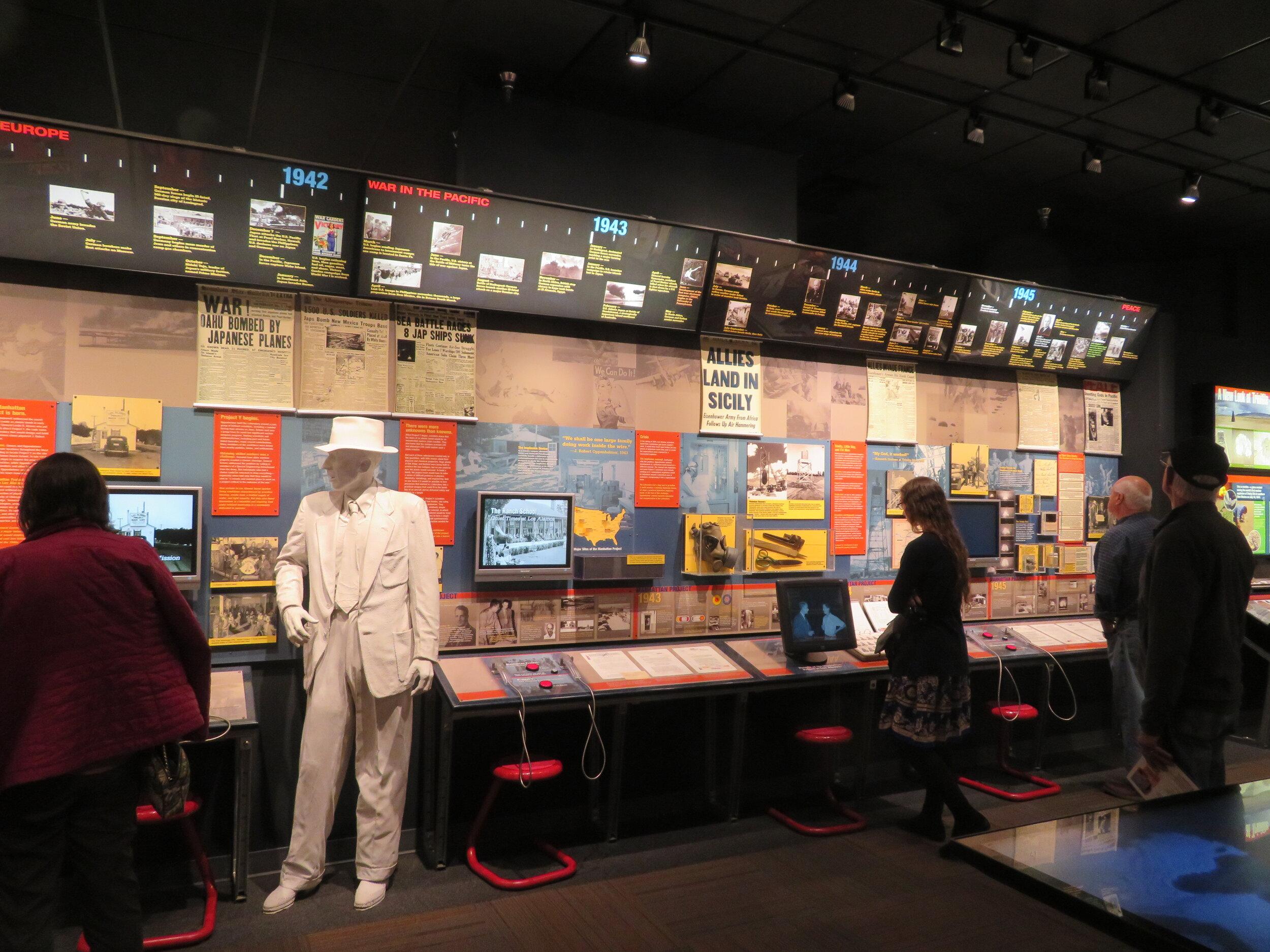 Manhattan Project Display