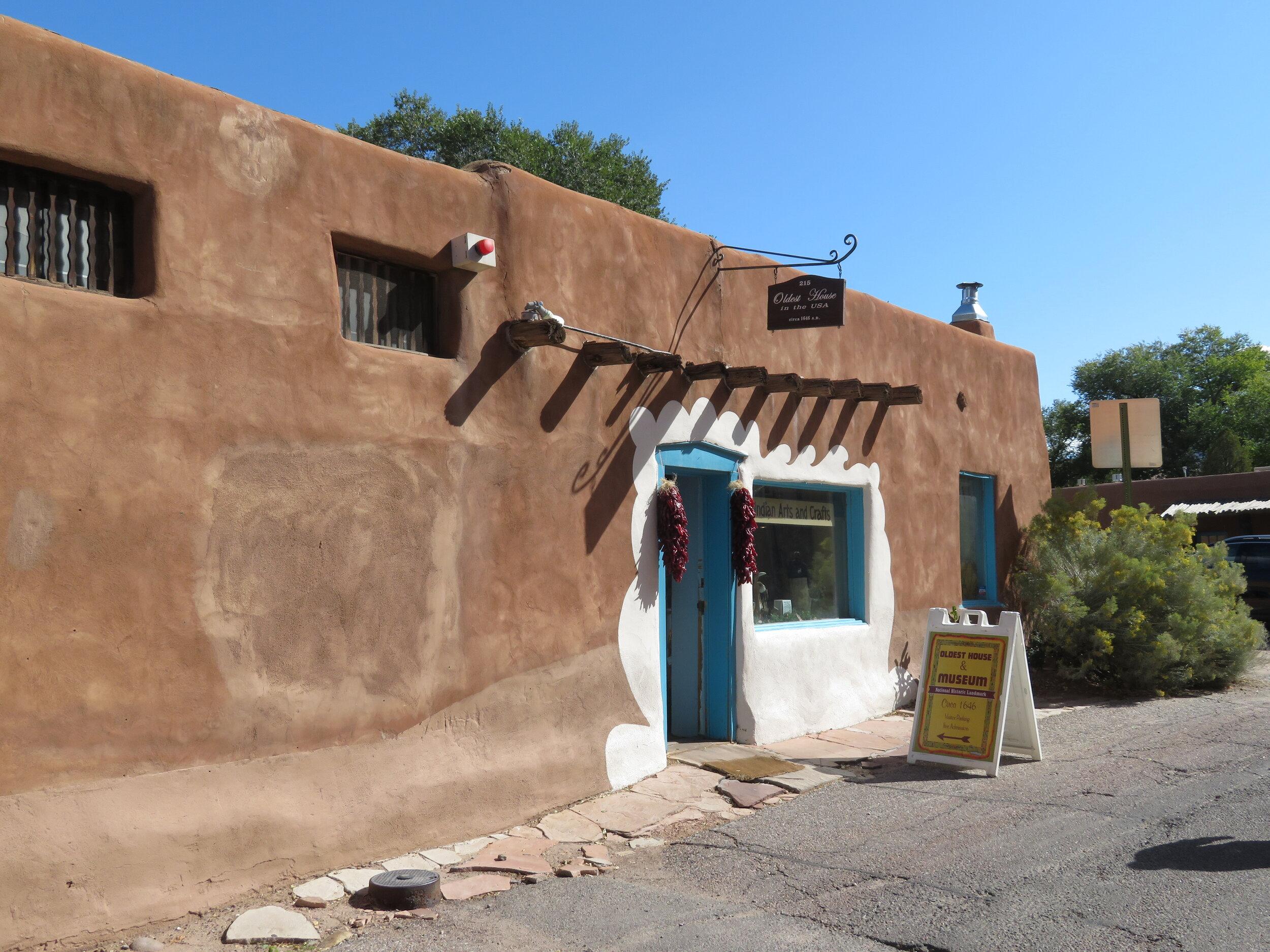 Oldest house in Santa Fe c. 1610
