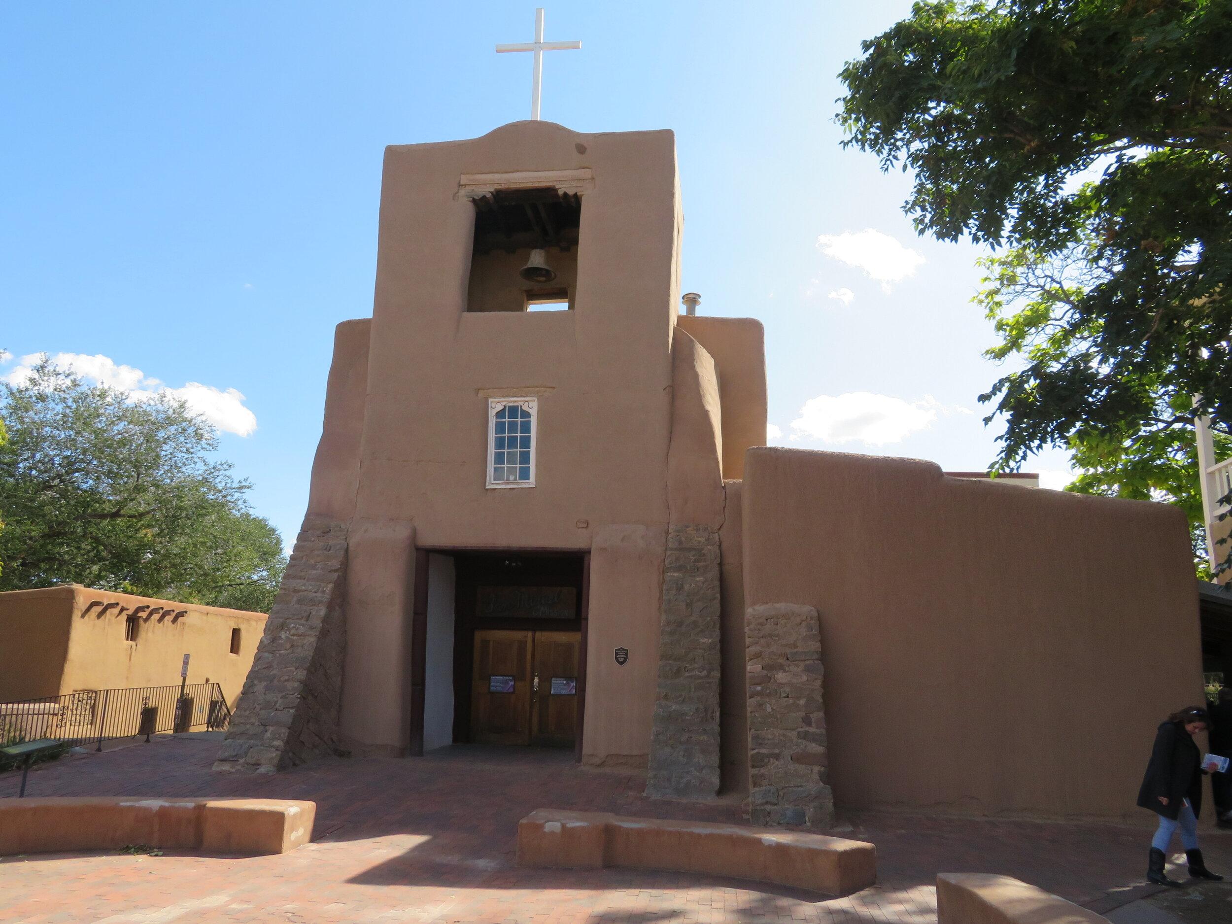 San Miguel, oldest church in Santa Fe
