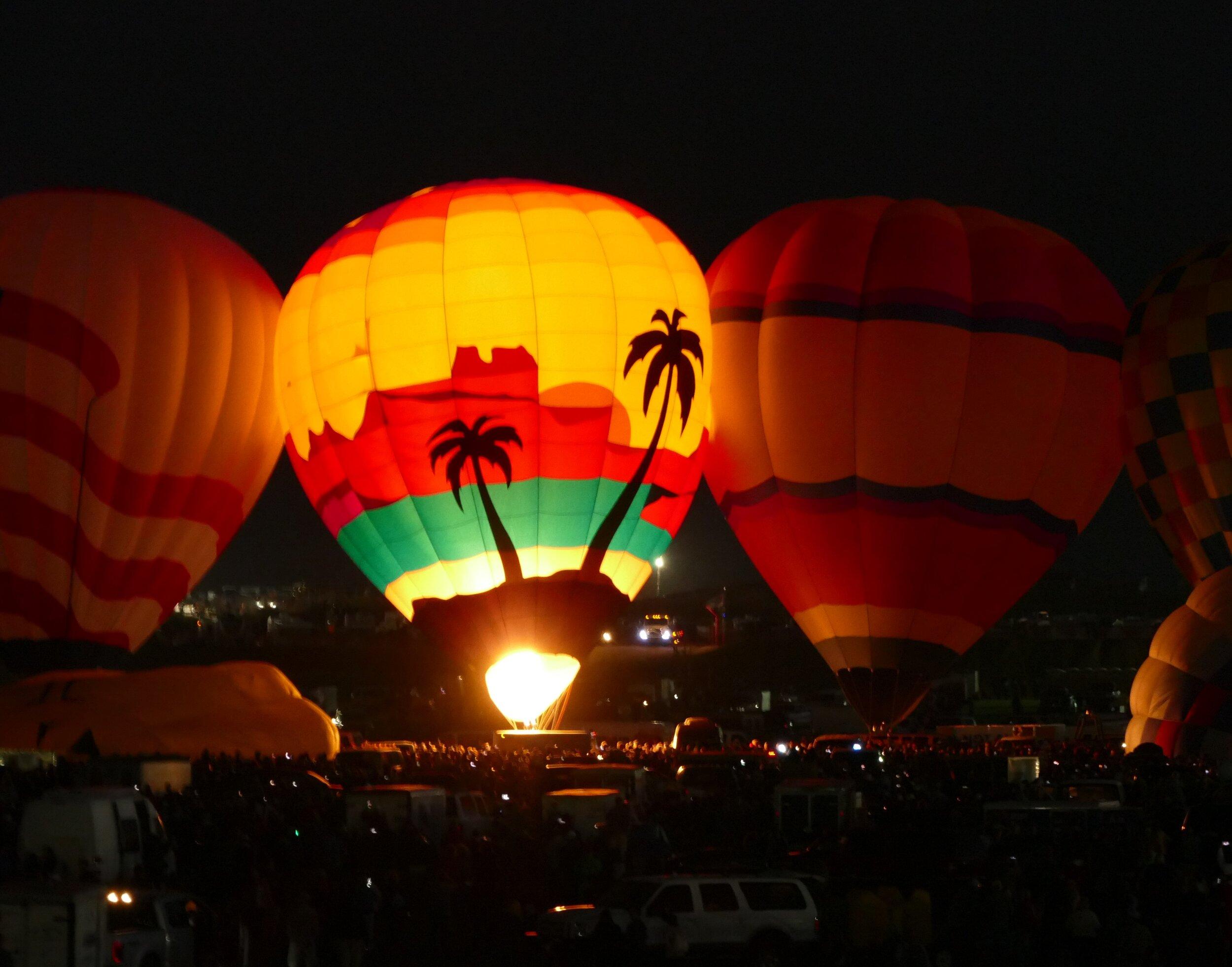 Dawn Patrol at the Albuquerque Balloon Fiesta