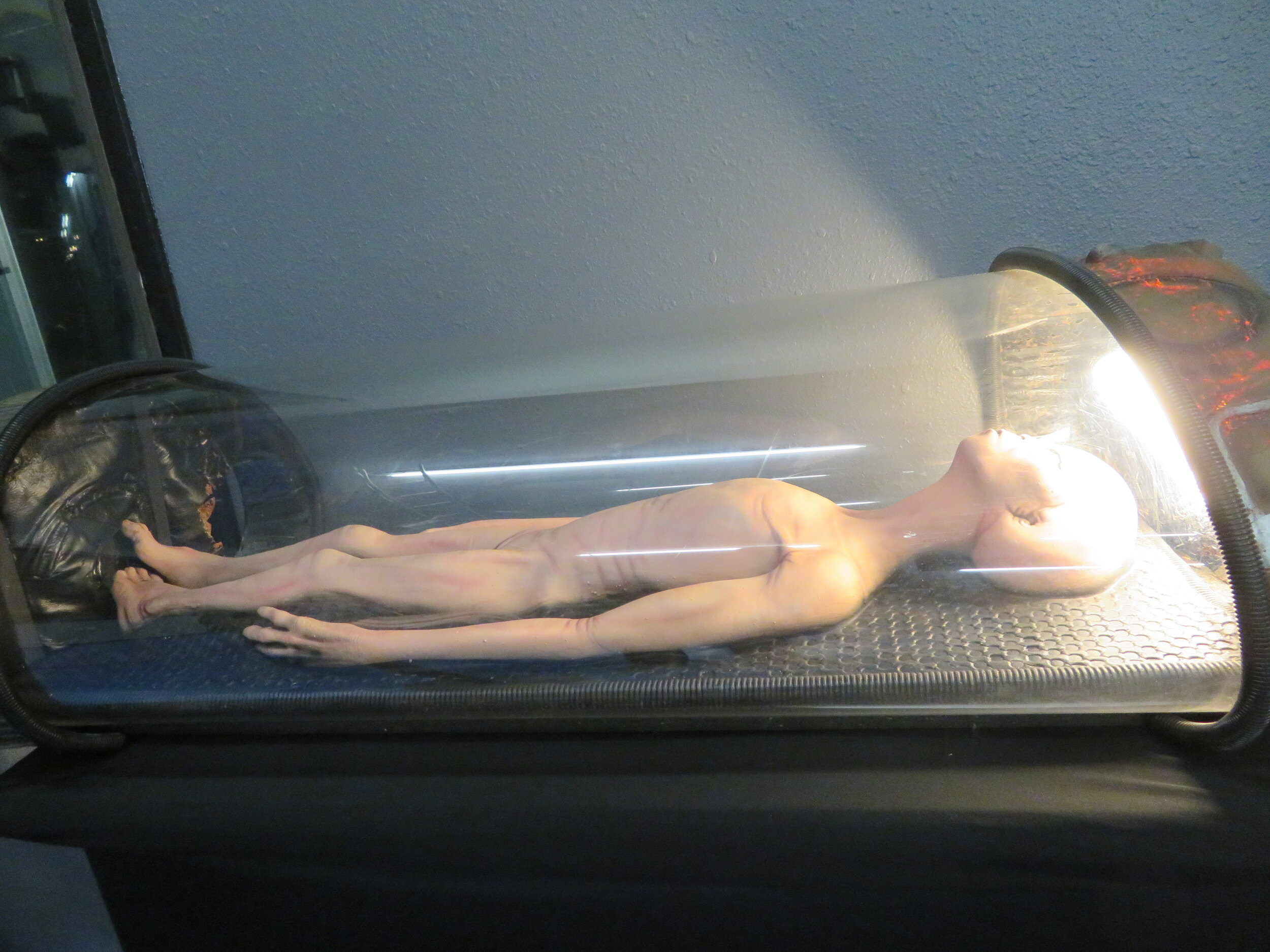 Replica of alien body