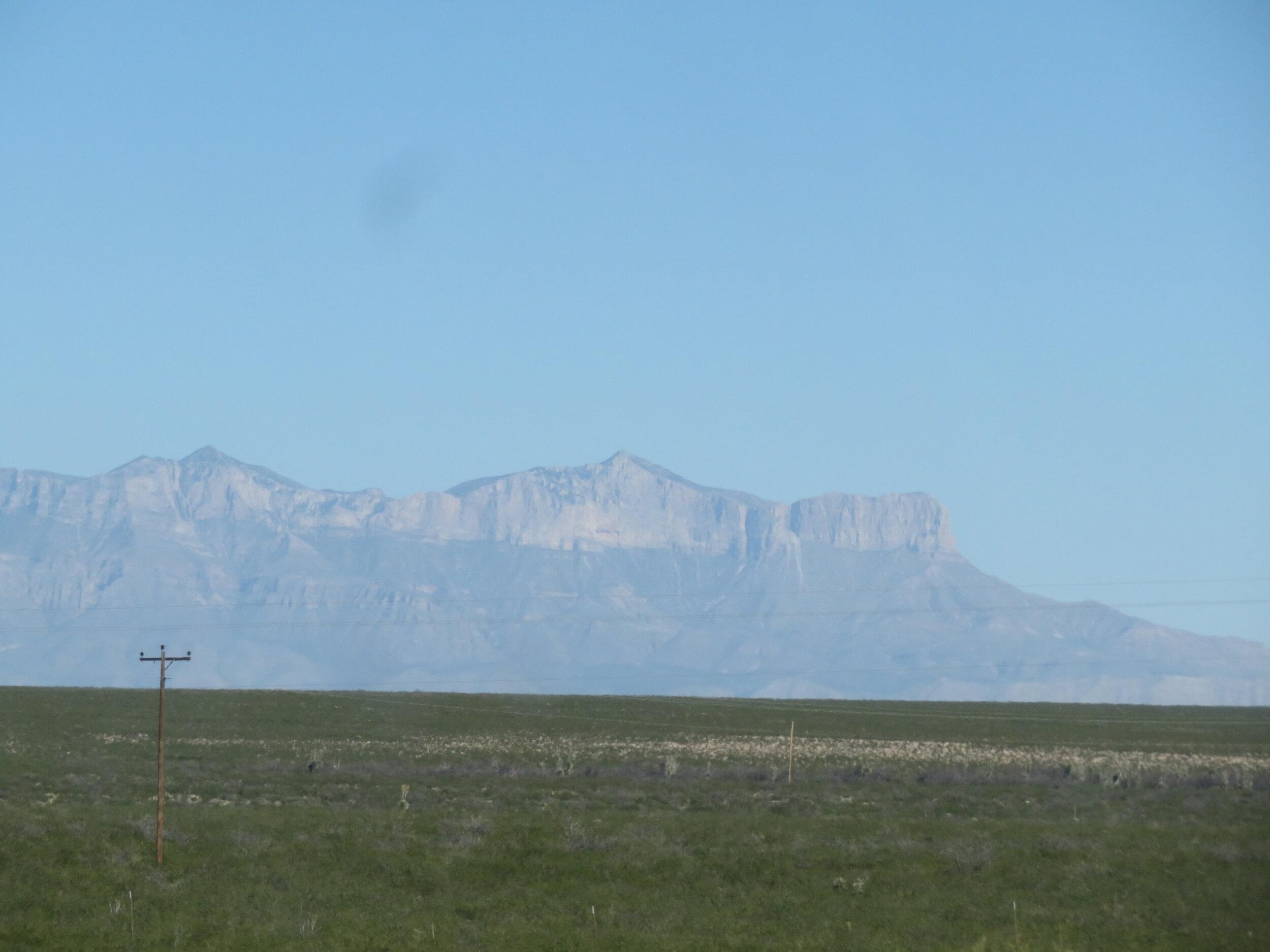 El Capitan 30 miles away
