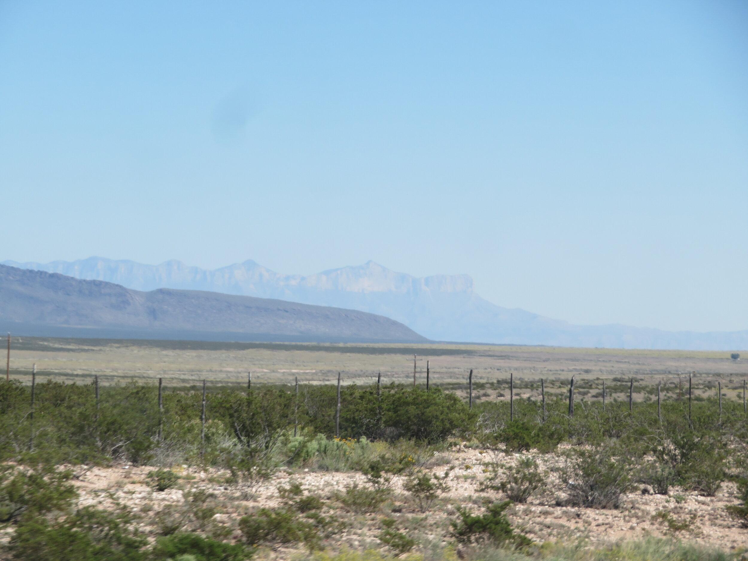 El Capitan - 90 miles away