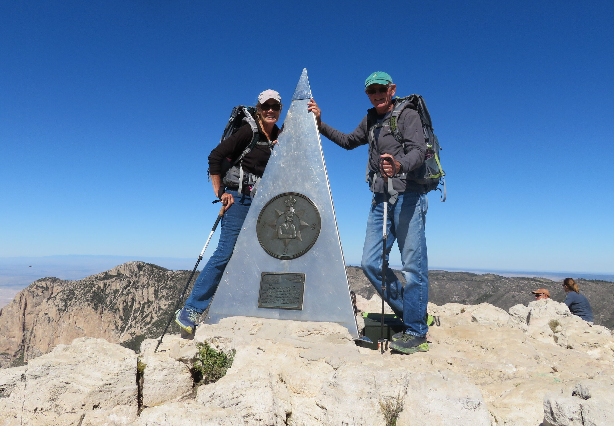 The Top of Texas… Guadalupe Peak at 8,751' is the highest point in Texas.