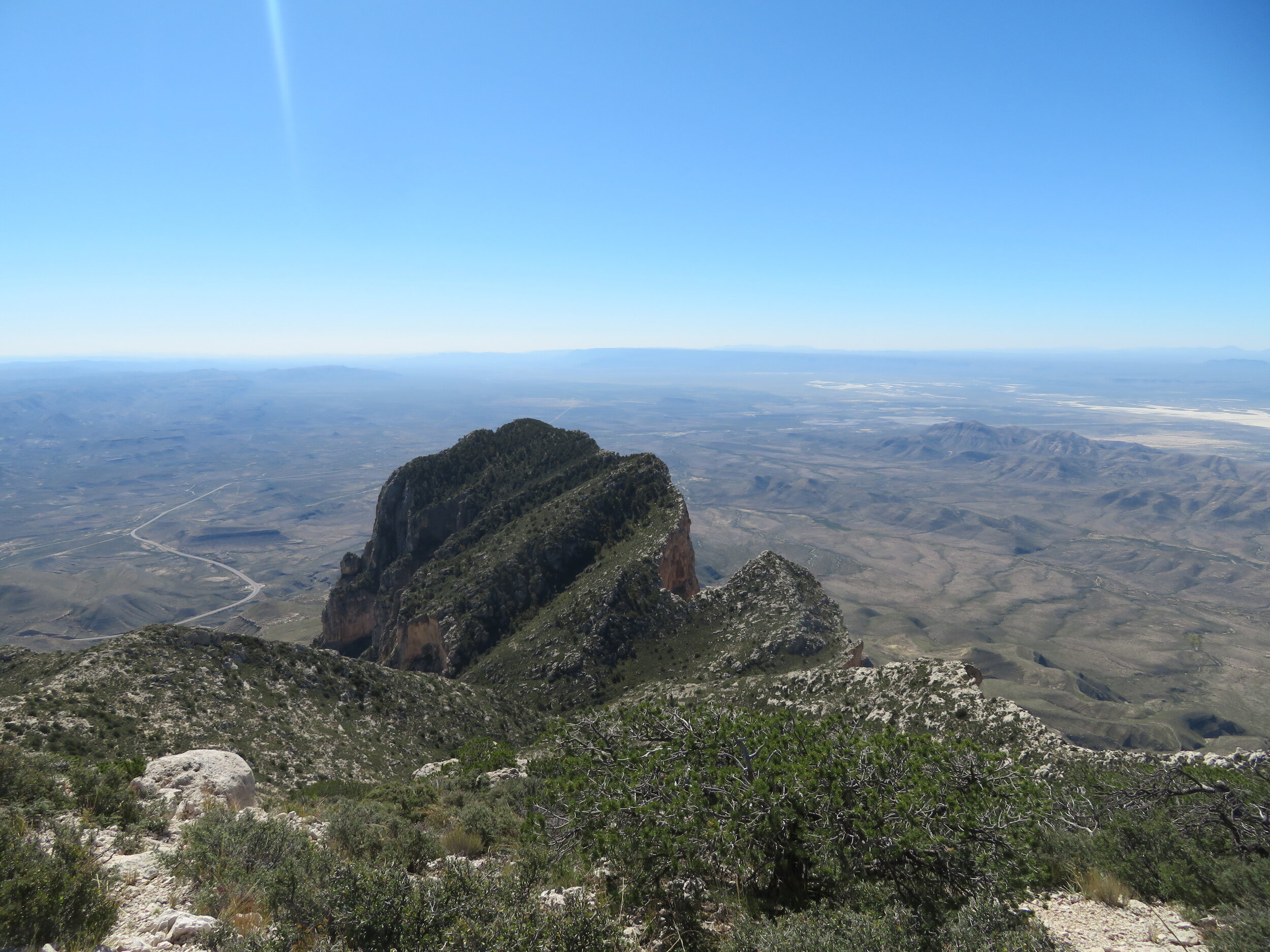 El Capitan certainly looked different from this vantage point.