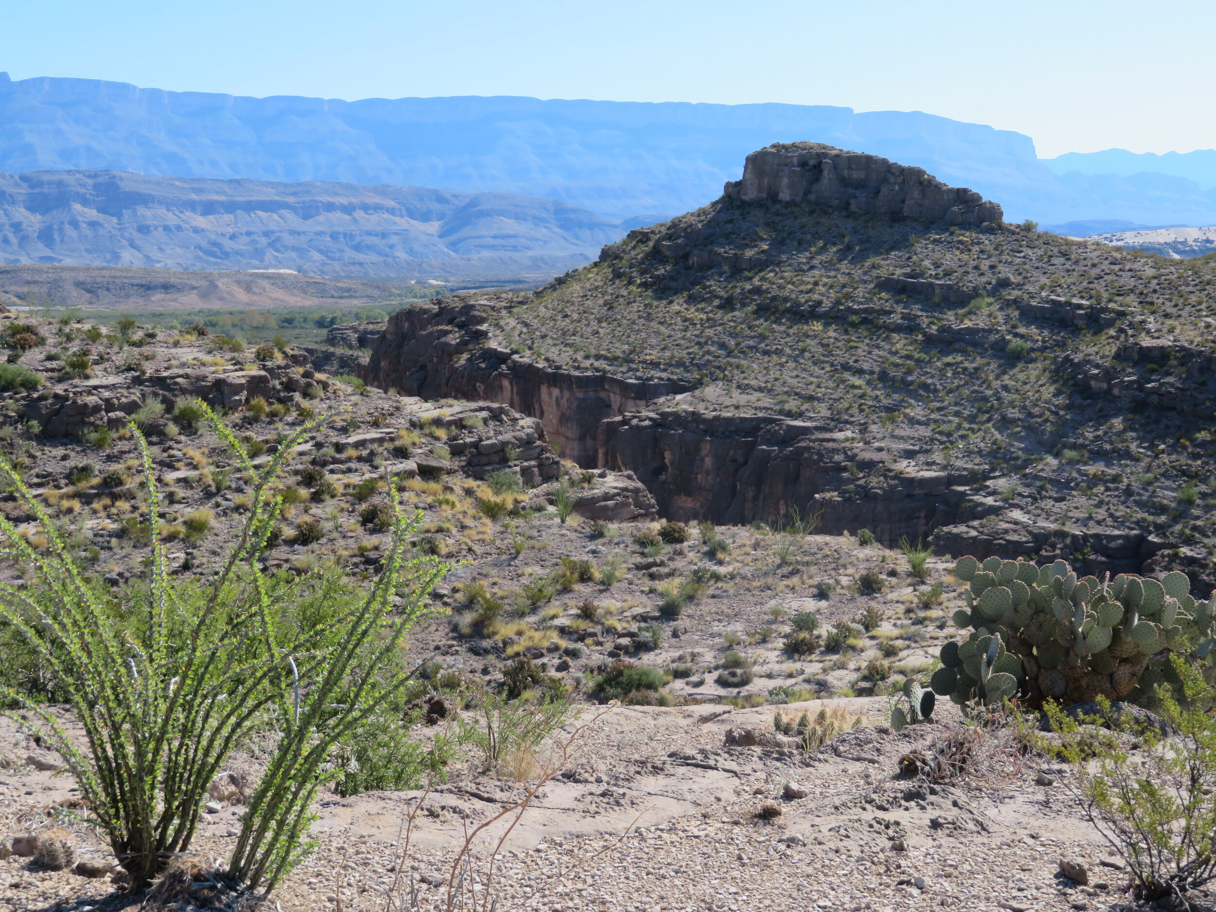 Hot Springs Canyon view