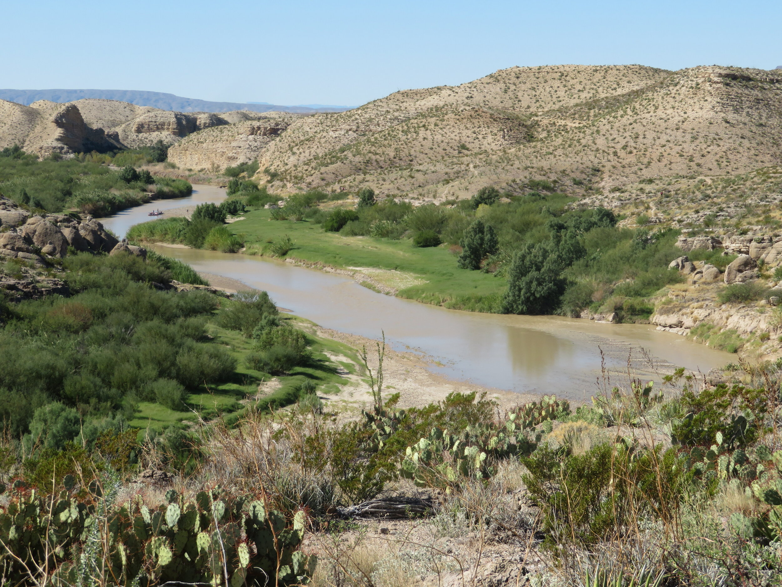 Awesome views of the Rio Grande