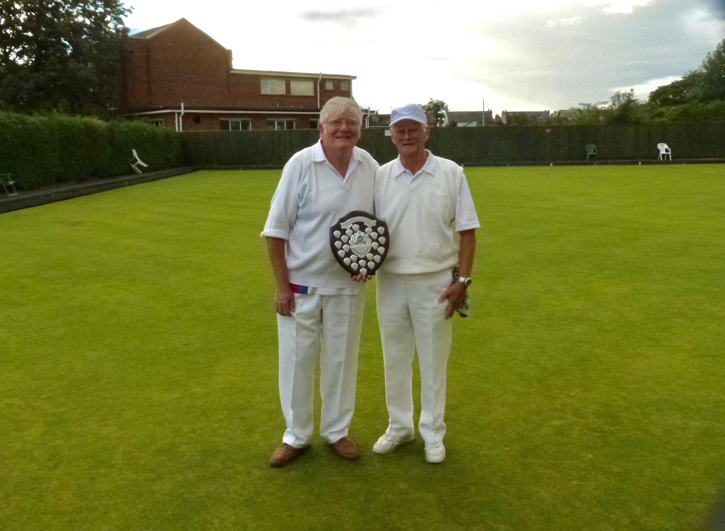 CLUB PAIRS   Winners - Jim Oates & Charles Wallace  Runners Up - Joyce Baker & Sandy Baker