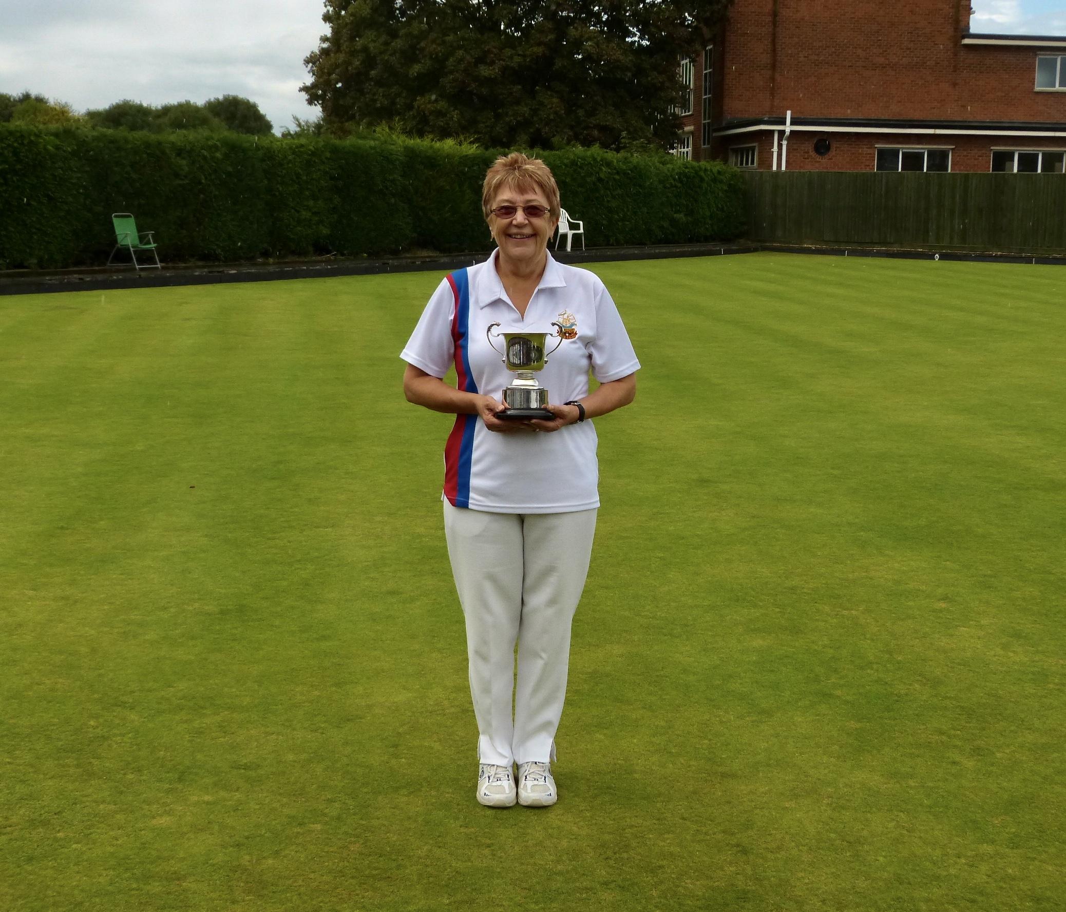 ROY BUTLER CUP   Winner - Hazel Hembling  Runner Up - Trevor Oliver