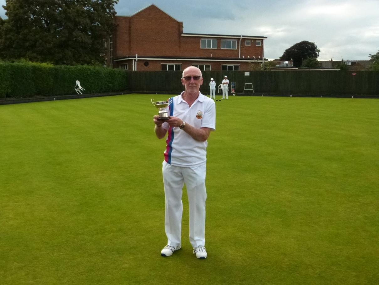 BILL HARRIS CUP   Winner - Malcolm Williams  Runner Up - John Baker