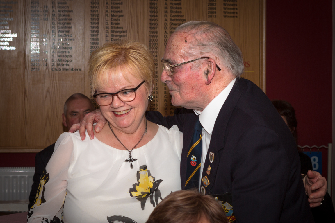 Margaret with our President