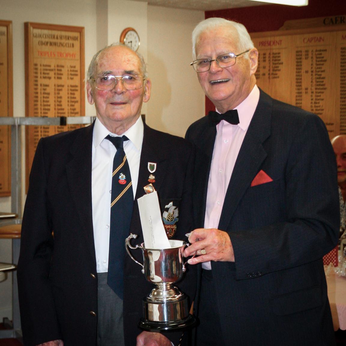 Roy Butler Cup Winner