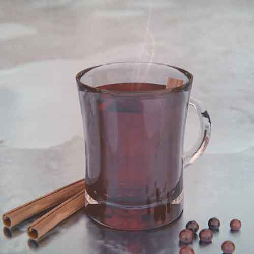 It's Crantastic! - 20-Plate VodkaHot Cranberry JuiceLemon JuiceHoney SyrupFee Bros. Cranberry BittersCinnamon sticks