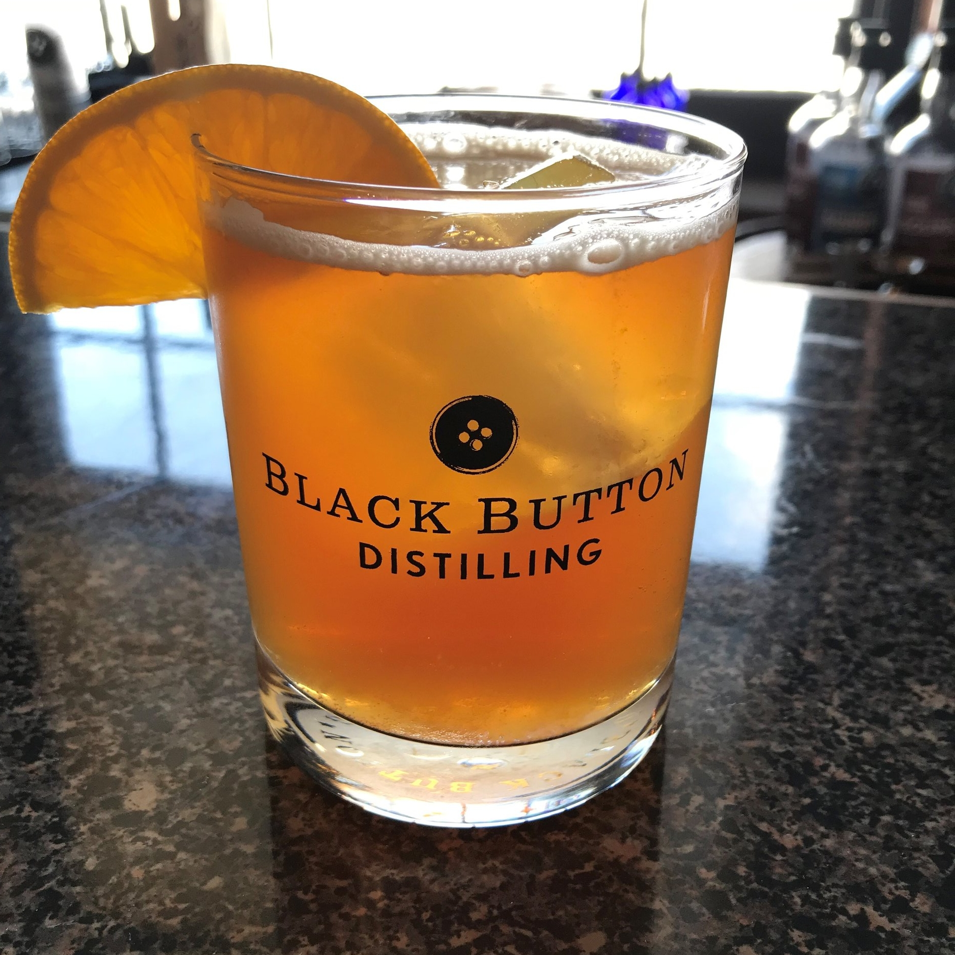 Black Button Distilling Lilac Gin Cocktail