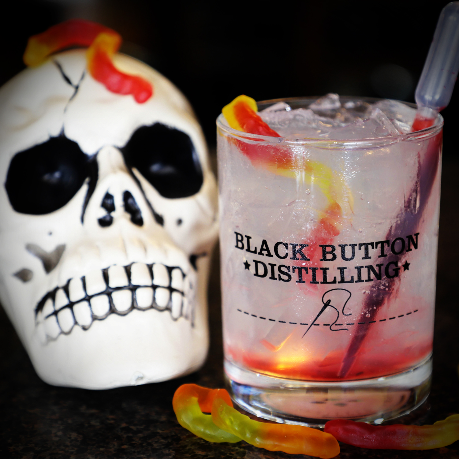 Black Button distilling award winning vodka paired with a vodka cocktail