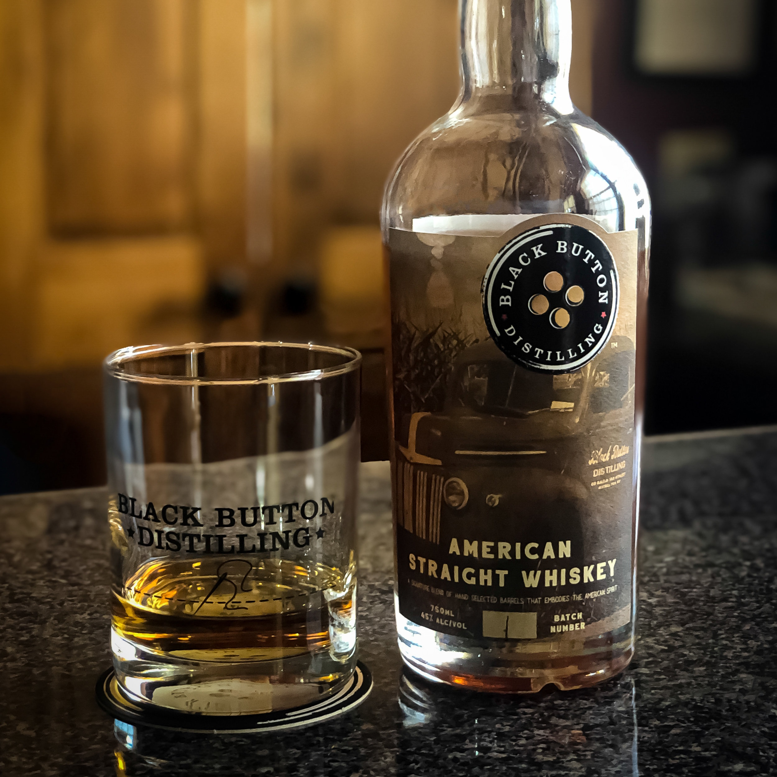 Coming Soon- Black Button Distilling American Straight Whiskey