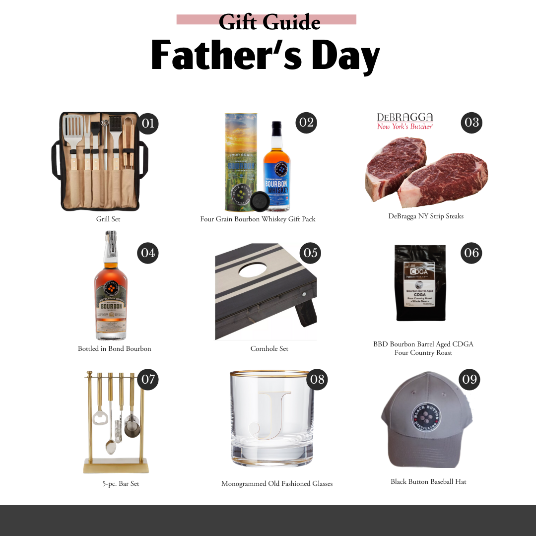 Bourbon gifts for dad - Father's Day Guide Square