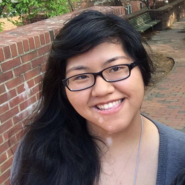 Joanna Cao   Joanna is a sophomore Biomedical Engineering major and is part of the Helping Hands Project. She spends her spare time making 3D models and Olympic weightlifting.