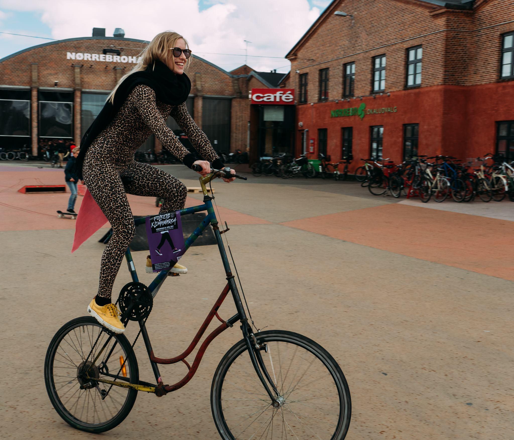Klimamarch Bike Ride Pre-Event (Photo Credit: Adam Ronan)
