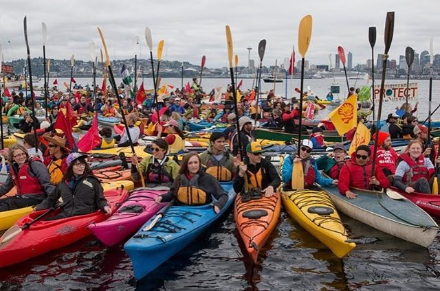 Join the Kayak Caravan and paddle alongside the Climate March on Saturday!Greenpeace is coordinating a Kayak Caravan that will paddle alongside the march on Saturday and we are still looking for paddlers to join us! If you have experience in kayaking you can join us with your own kayak, or you can borrow one from us, we have 8 singel kayaks and 7 doubble kayaks. If you would like to join the kayak caravan, send an email to hhagbom@greenpeace.org, with contact info and if you have your own kayak or would like to borrow one. Everyone who is joining the caravan will meet at 12.00 at @Kayak Republic atBørskaj 12 for a briefing and from Kayak Republic the caravan will start at 13.45. See you Saturday!