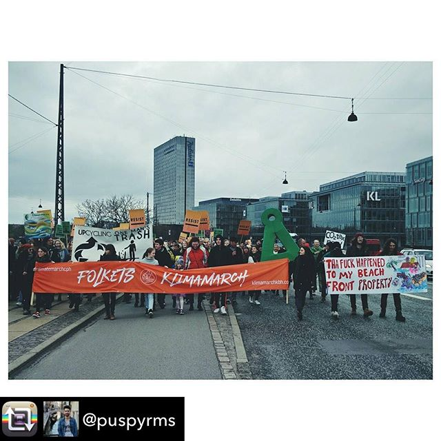 Repost from @puspyrms - There's no Planet B! 🌍 #climatemarchcph #klimamarchkbh #climatemarch #climatechange #peopleclimatemarch @climatemarchcph