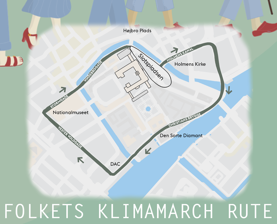 Folkets Klimamarch Rute.png