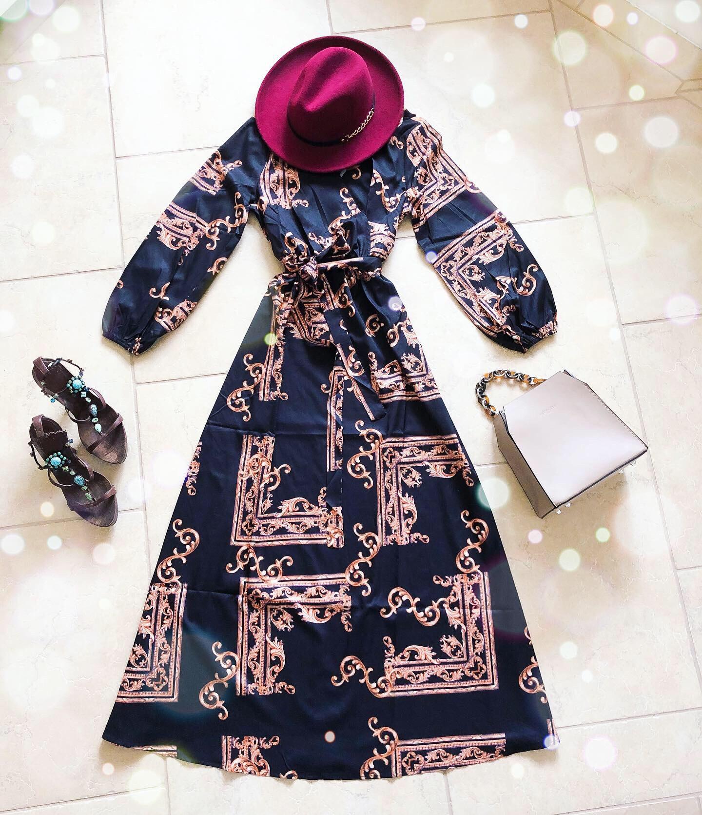 Dress: SHEIN 637243  http://bit.ly/2PZryFv , Shoes: Giuseppezanotti, Purse: Frederic T Paris, Hat: SoPeacock