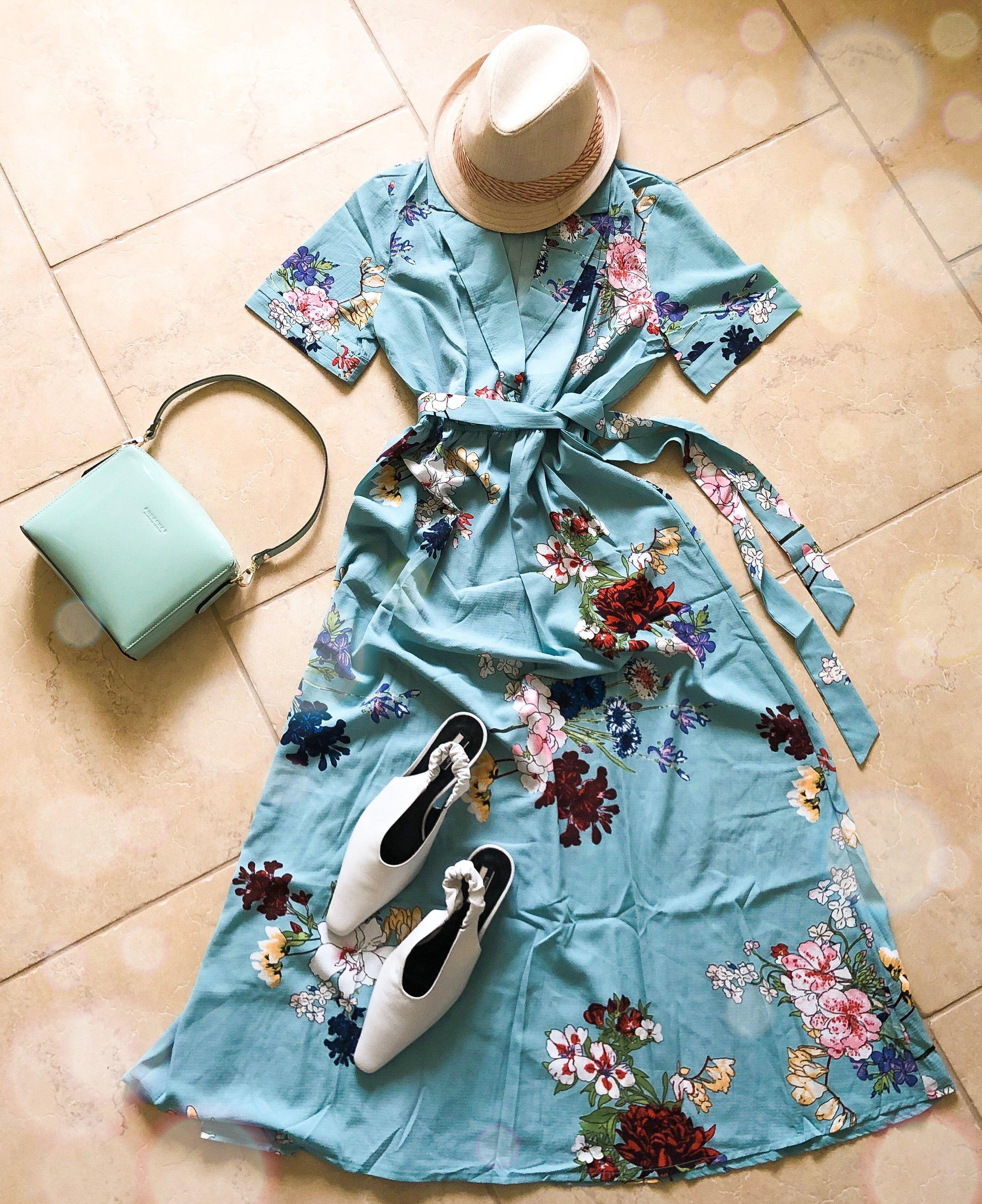 Dress: Shein 467311  http://bit.ly/2JDhXTl , Shoes: TopShop, Purse: Pourchet Paris