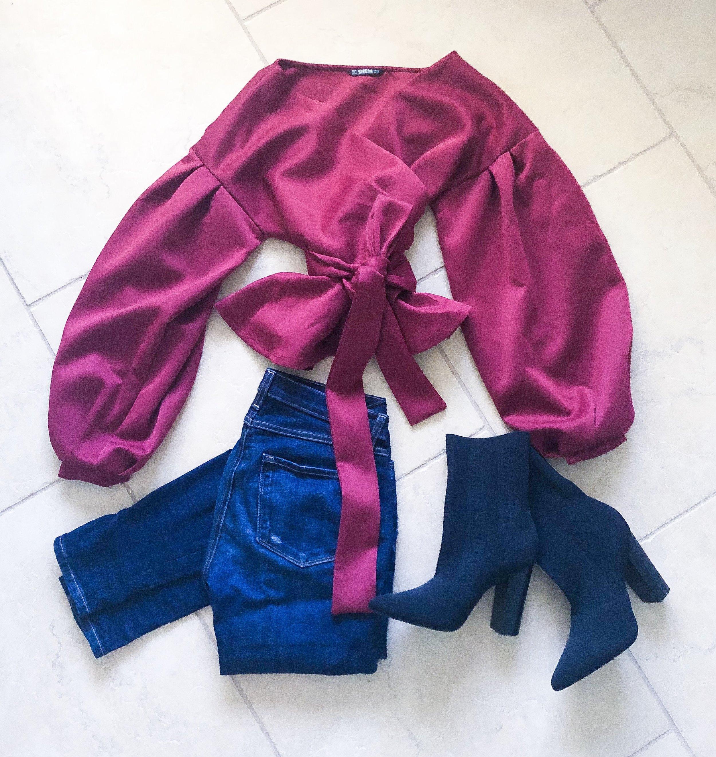 Blouse: SHEIN 595912  http://bit.ly/2E0Xwft , Shoes: ShoeDazzle