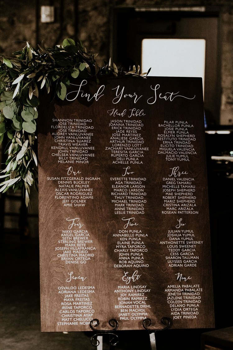 Custom Wedding Seating Chart Wedding Decor Find Your Seat Ss 207 Sweet Carolina Collective