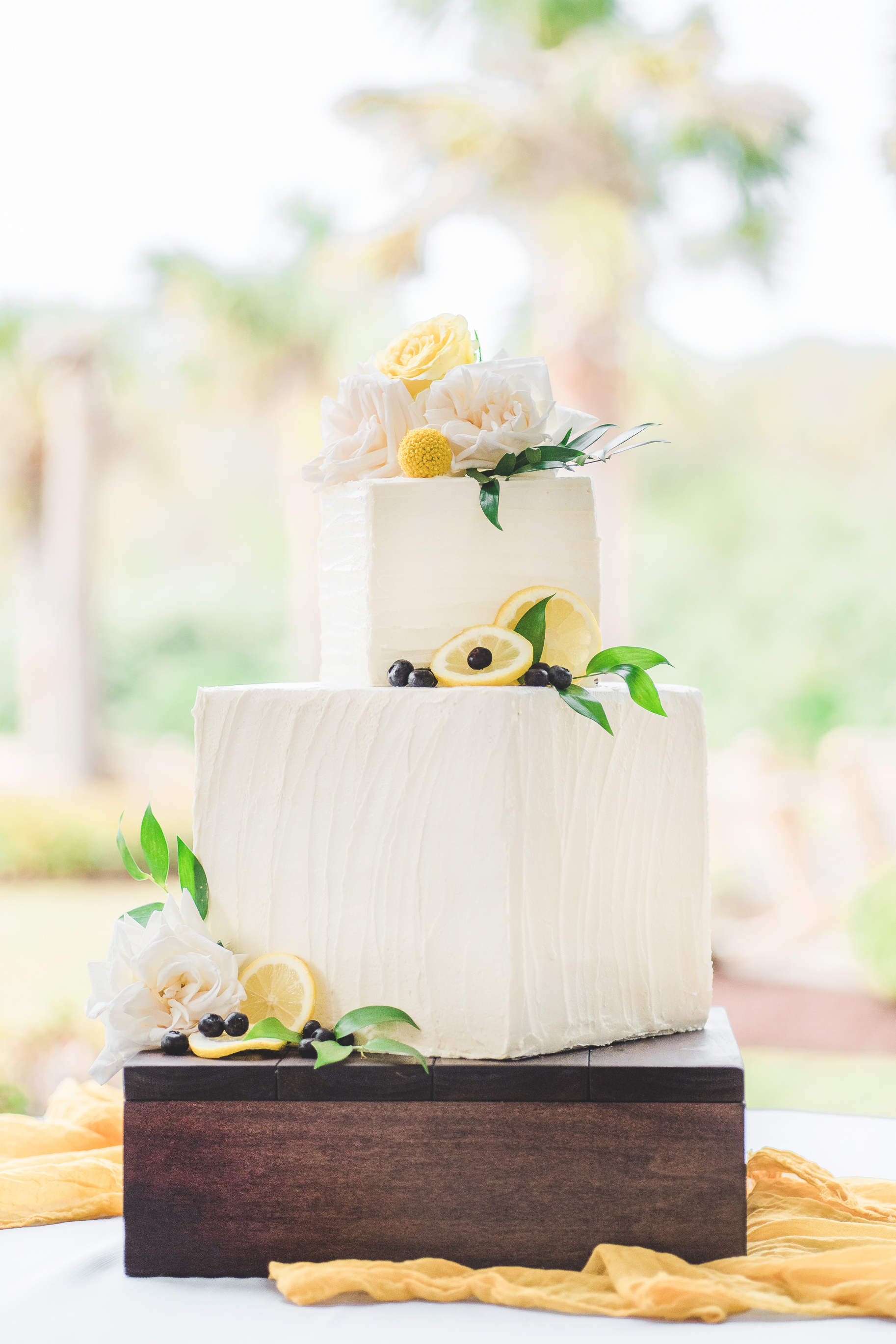 Copy of Wooden cake stand