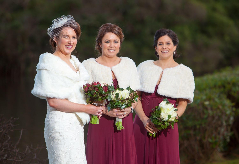 Ann-Marie Aspell and bridesmaids