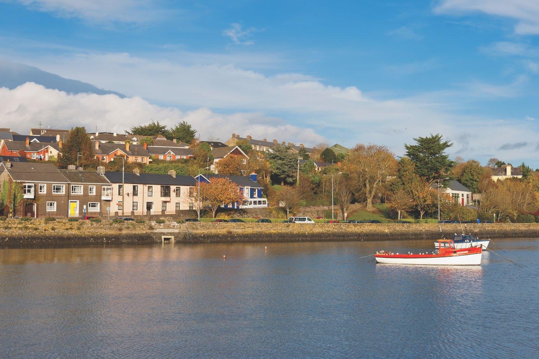 Fishing boats in charming Kinsale Harbor, County Cork