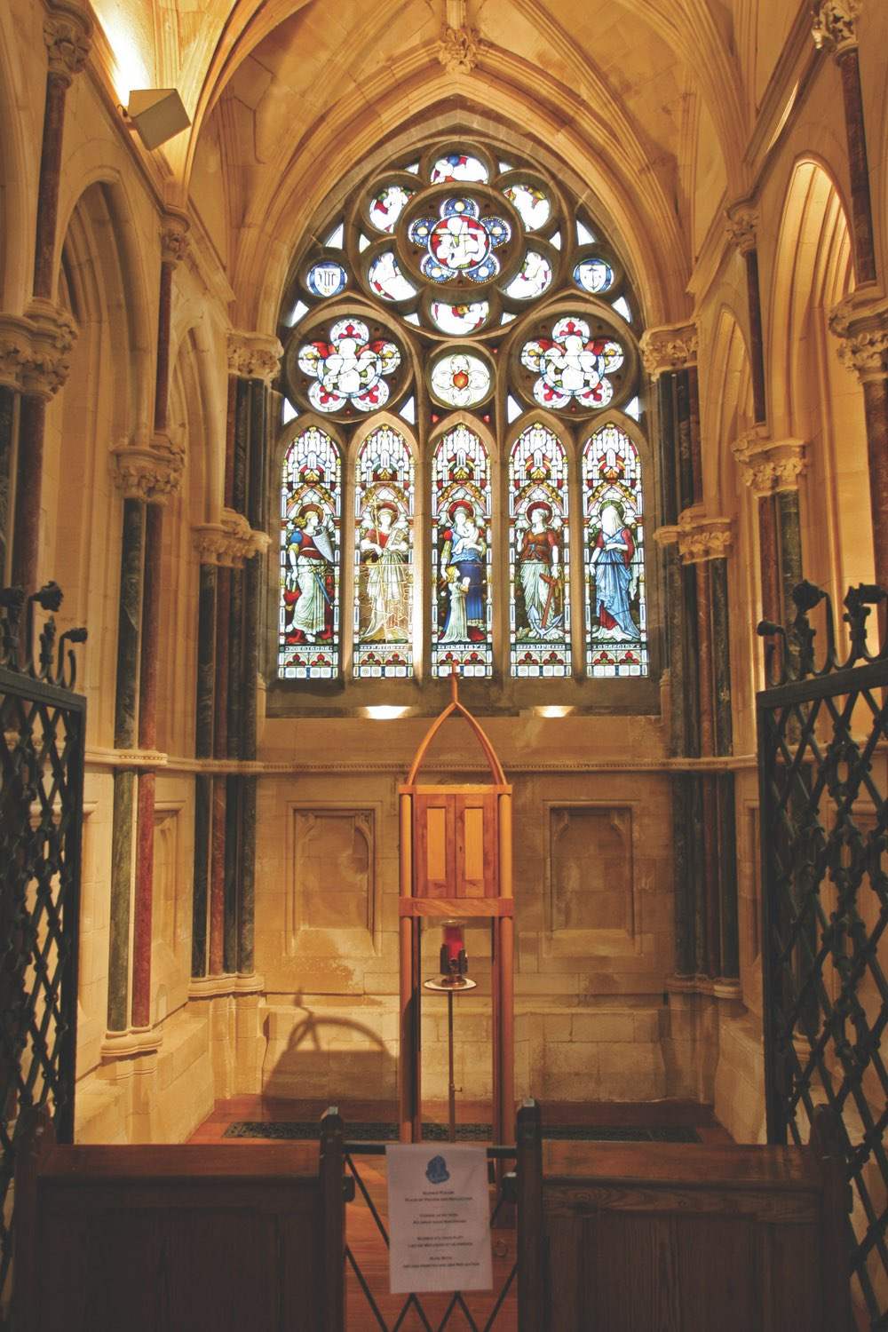 Kylemore Abbey Church Interior