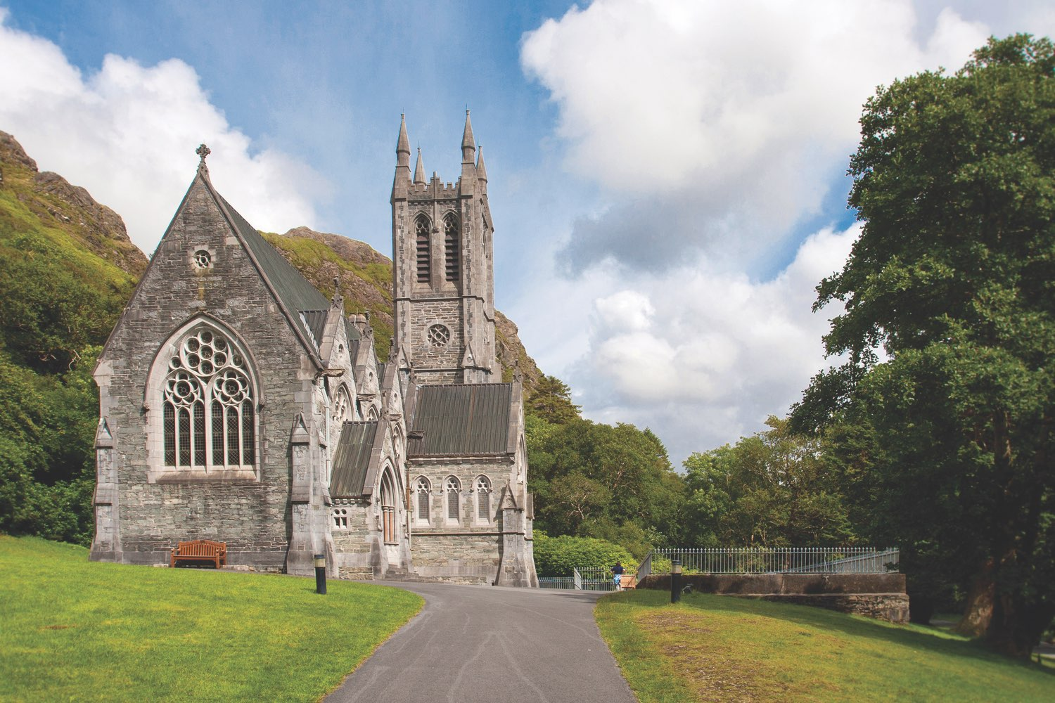 Kylemore Abbey Church Exterior