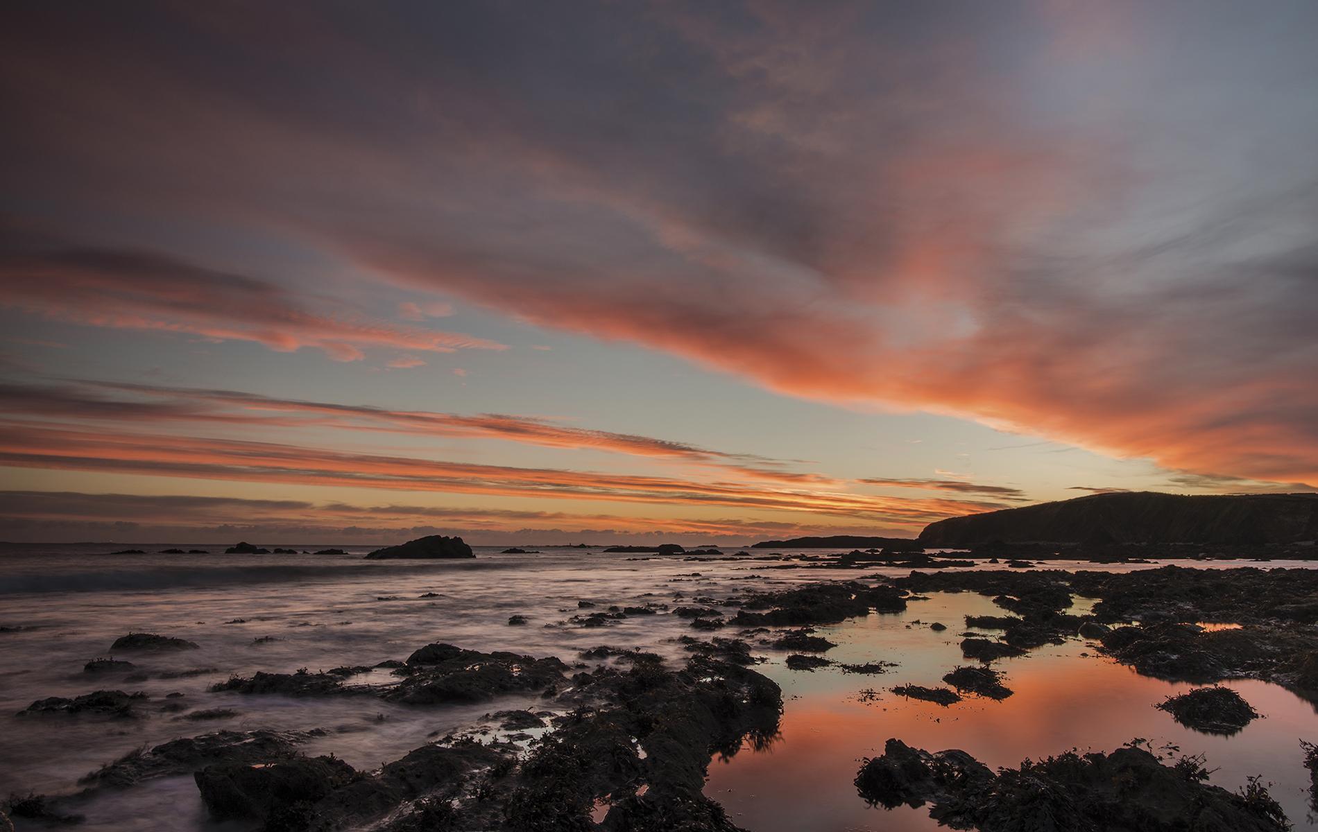 Eyrephort at sunset; Photo by Mark Furniss Photography