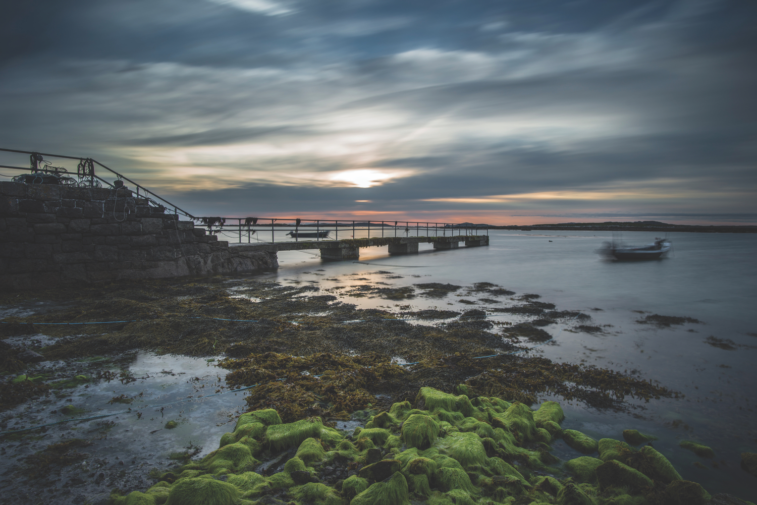 Rossadillisk—one of the most picturesque piers in Connemara; Photo by Mark Furniss Photography