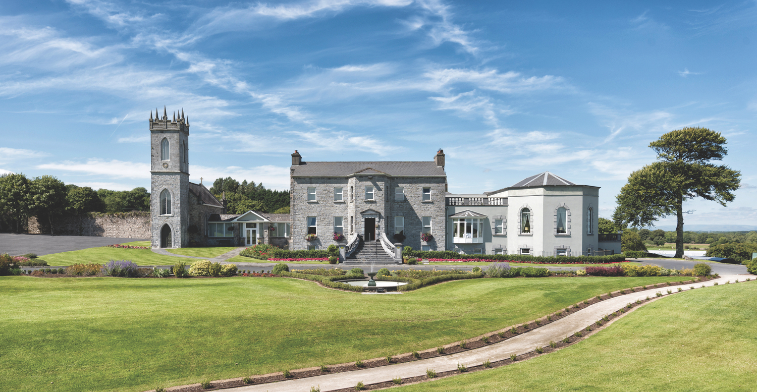 Rising majestically from the shore of Lough Corrib and dating back to the eighteenth century, the five-star Glenlo Abbey Hotel is where old-world charm meets contemporary elegance.