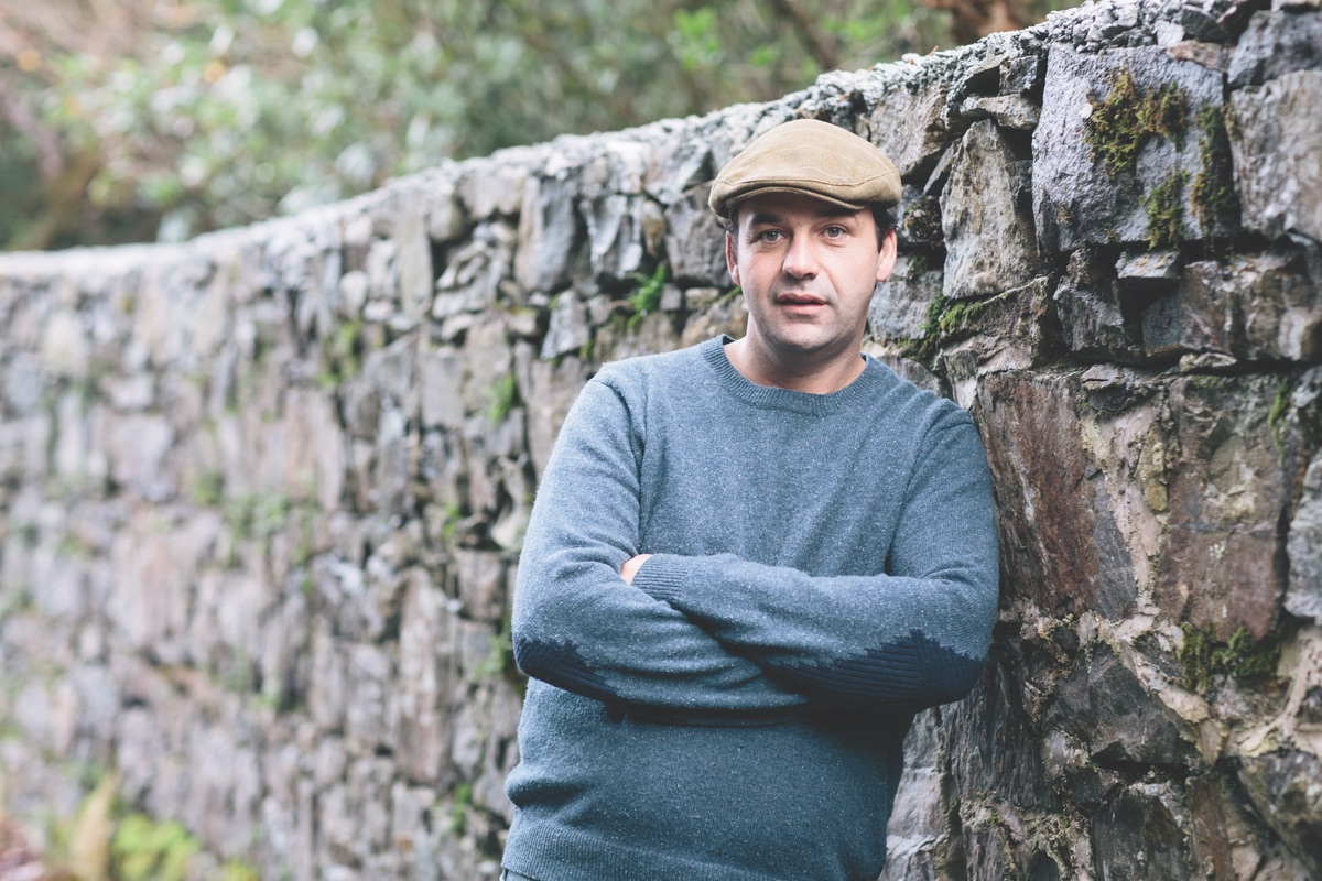 John O'Sullivan, Connemara stonemason. (Photo by Doreen Kilfeather)