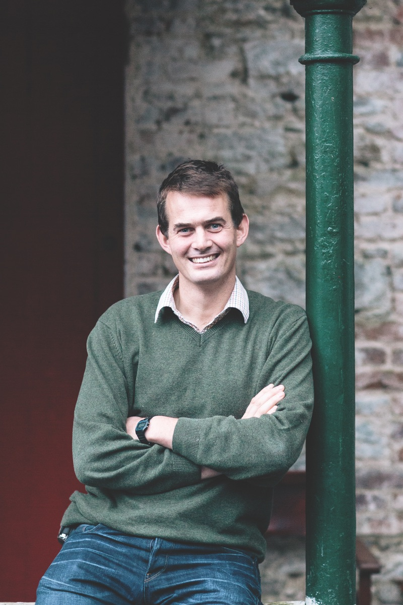 Simon Ashe, estate manager and project leader. (Photo by Doreen Kilfeather)