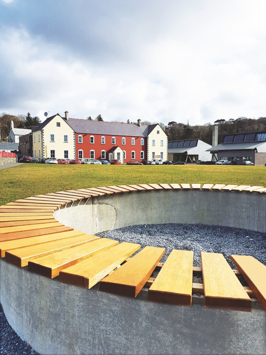 Interactive Zone seating project on the GMIT grounds
