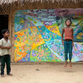 UNICEF, Rohingya Murals
